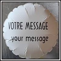 Custom photo balloon with your favourite picture.