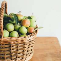 Gourmet baskets and fruit baskets for Montreal delivery.
