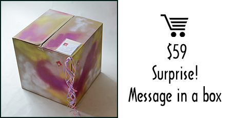 Balloons in a box @$59