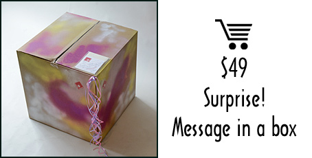 Balloons in a box @$49