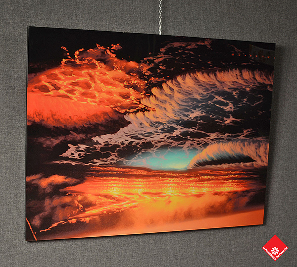 Acrylic prints from your favourite digital image made in Montreal