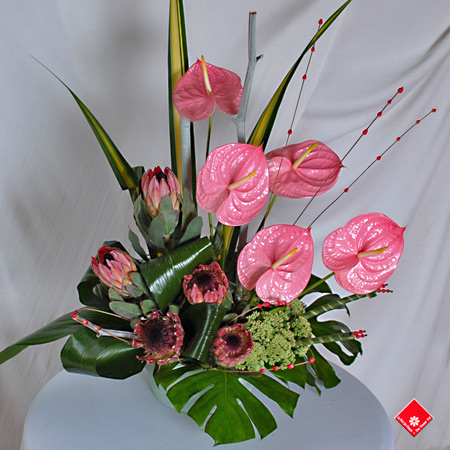 Flower Centerpieces on Table Centerpieces From Your Montreal Florist    The Flower Pot