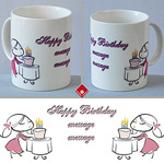 Custom gift mug for a girl