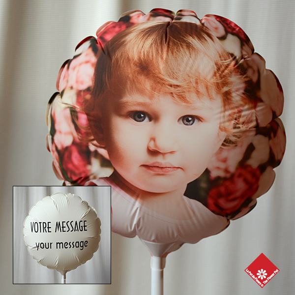 Photo balloon lasting several months @ $24.95