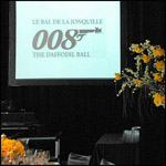 James Bond at Daffodil Ball 2008.