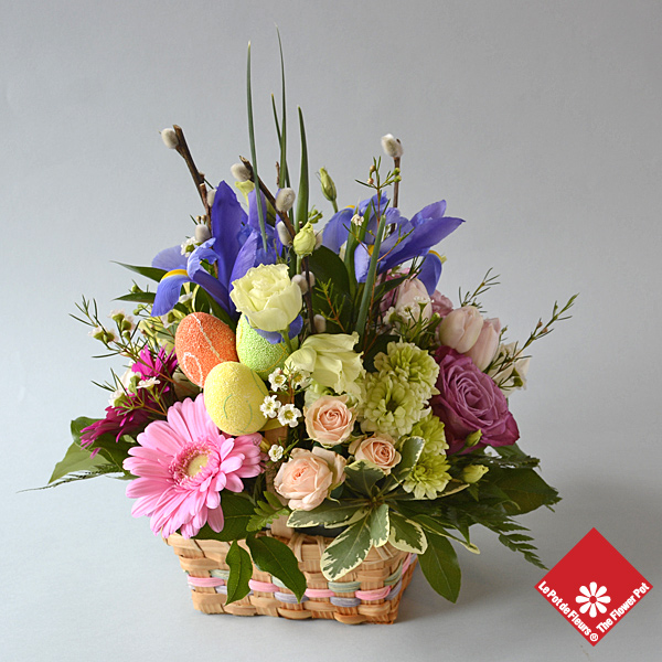 Easter Basket - The Flower Pot