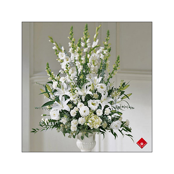 Order funeral flowers and sympathy flowers for delivery to any Montreal funeral parlour from your local florist.