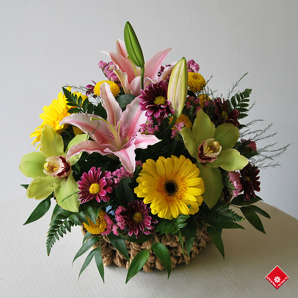 Assorted flowers arranged for Mother's Day