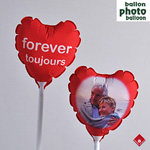 Custom photo balloon from your Montreal balloon shop.