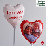 Let your photo on balloon speak louder than words.