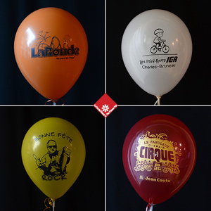 Helium balloons in Montreal for your party decorations.