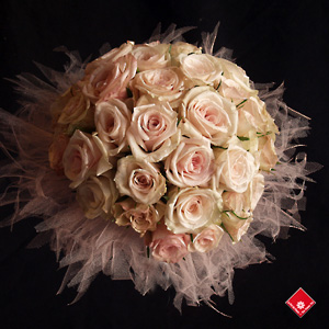 flower in rose wedding
