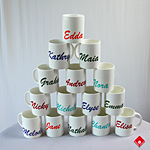 Customized mugs for Montreal delivery.