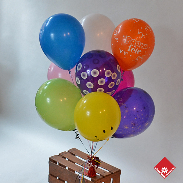 High float latex balloons.