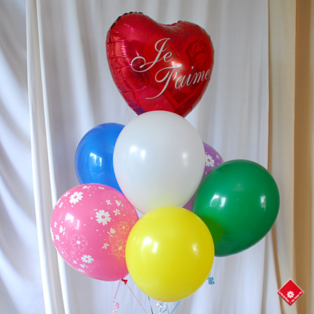 Balloon bouquet for Father's Day gift in Montreal.