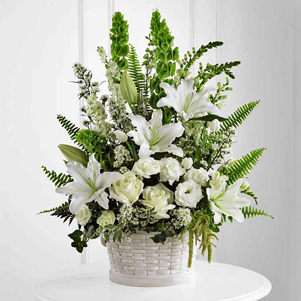 Send a sympathy basket to any local residence or funeral home from a local Montreal florist.