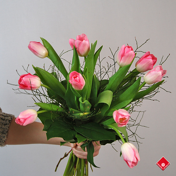 Order tulips for Women's Day