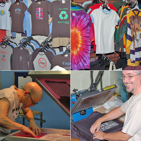 Photo t-shirt printing at work!